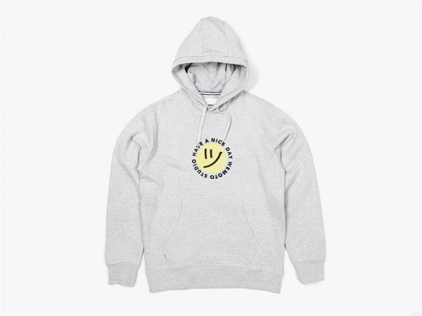 DAY HOOD - EMBROIDERED HOODED SWEATSHIRT