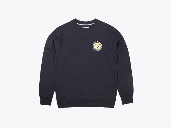 DAY CREW - EMBROIDERED CREWNECK SWEATSHIRT