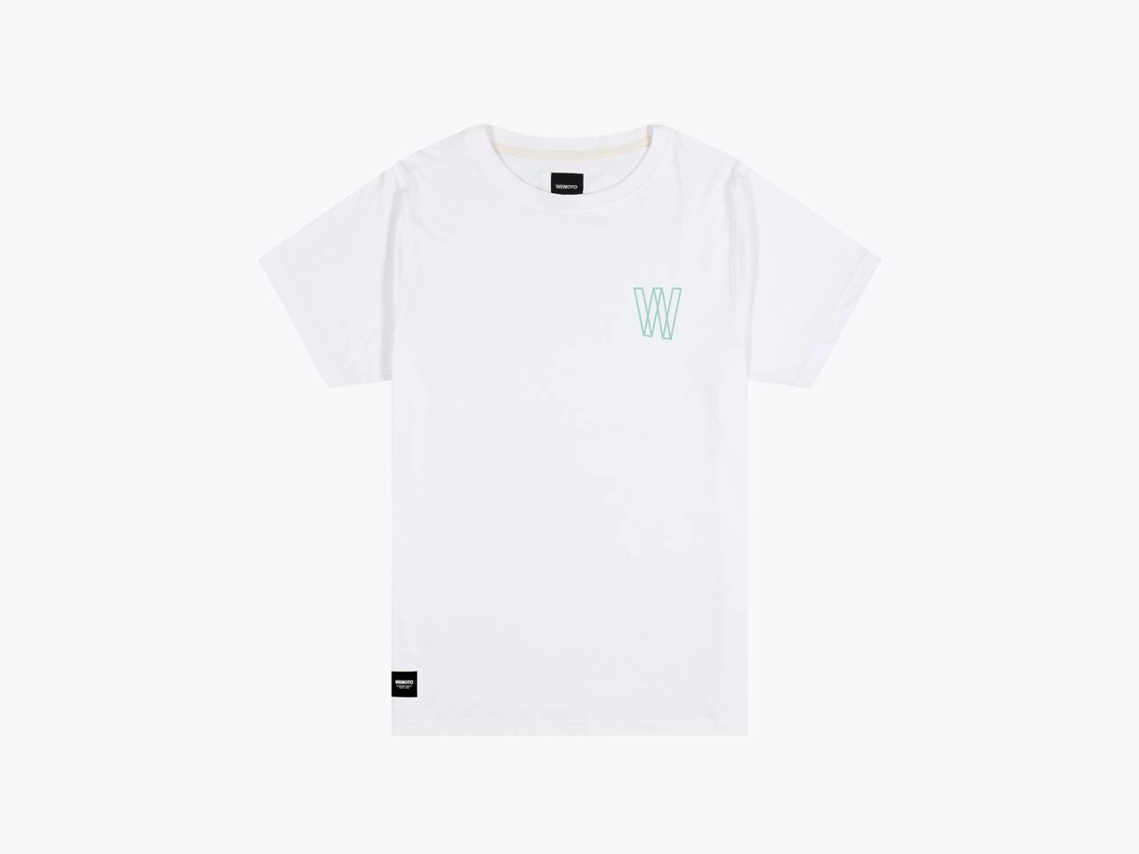 wemoto dedication t-shirt white front