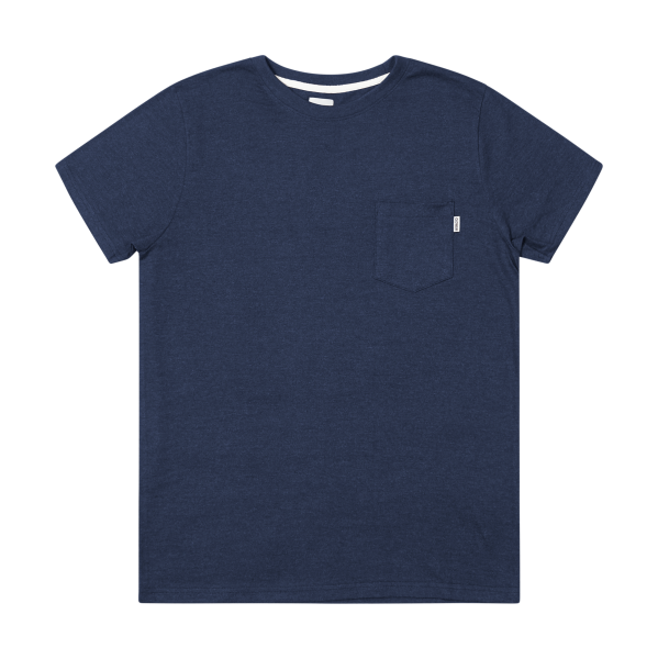 Blake Melange - Cotton Pocket T-Shirt