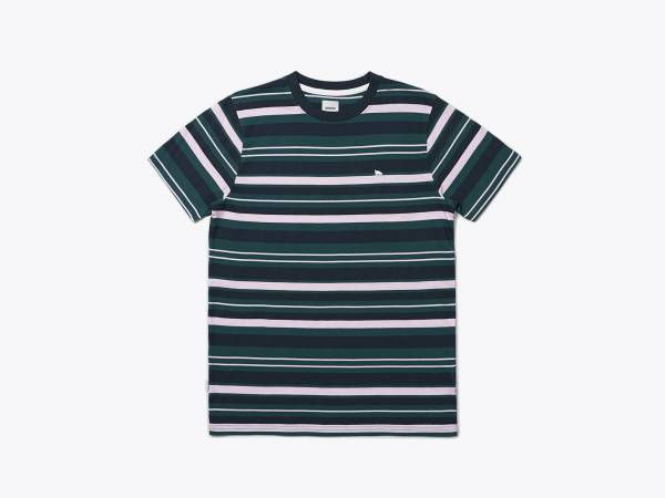 WARREN STRIPE - JERSEY T-SHIRT