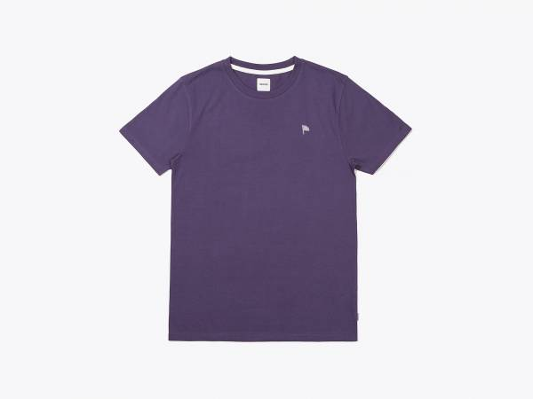 FLAG TEE - EMBROIDERED T-SHIRT