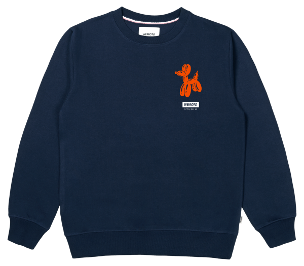 Dog Crew - Organic Cotton Printed Crewneck