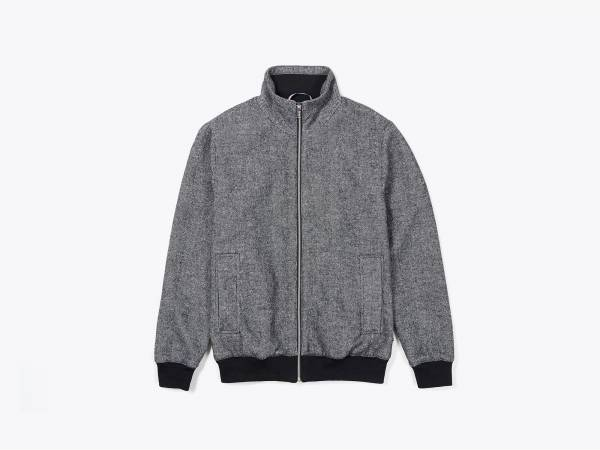 IRON - WOOLFELT HARRINGTON JACKET