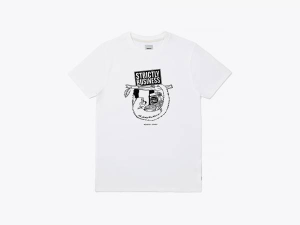 STRICTLY BUSINESS - PRINTED T-SHIRT