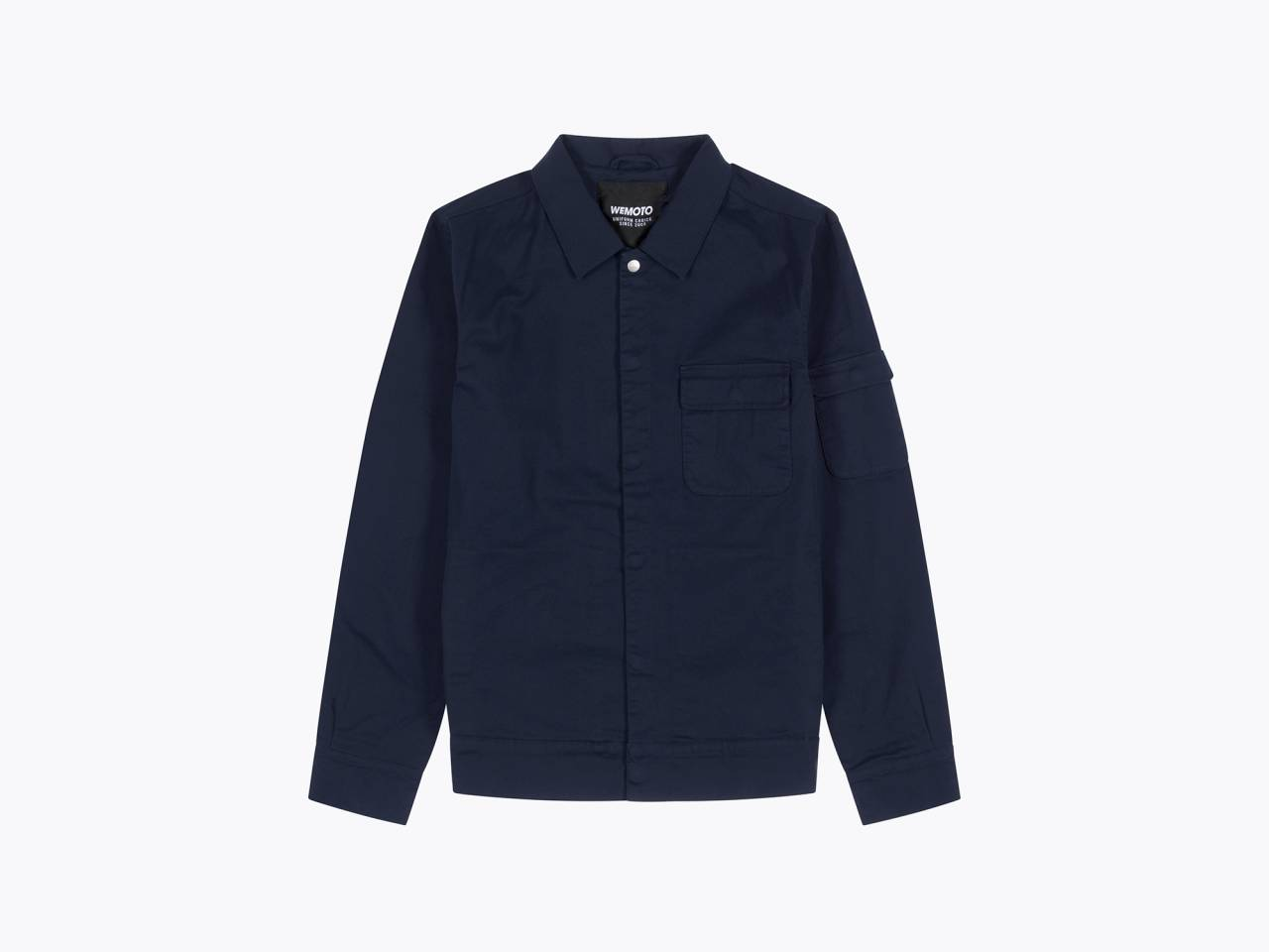 wemoto sloan jacket dark navy