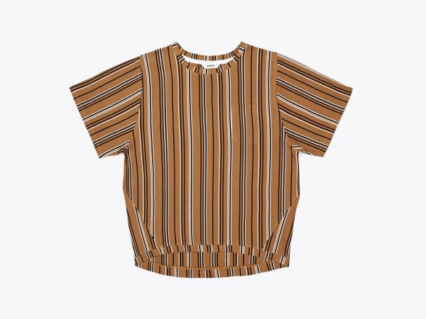 EVA STRIPE - PIQUÉ RELAX FIT SHIRT