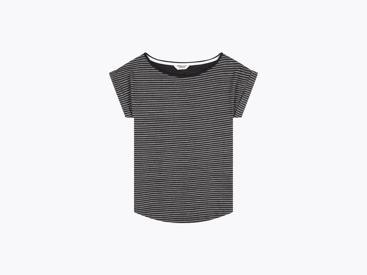 wemoto holly t-shirt black white