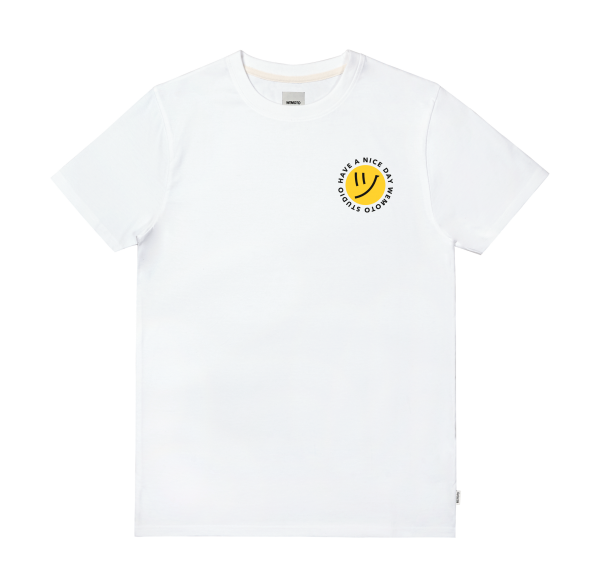 Days Tee - Organic Cotton Printed T-Shirt