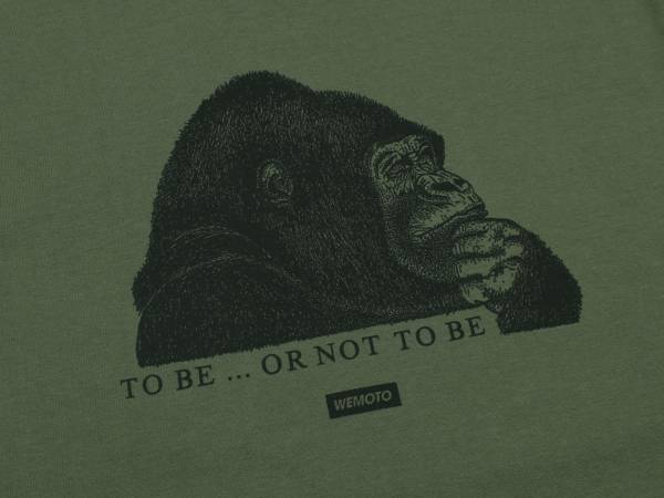 TO BE TEE - PRINTED T-SHIRT