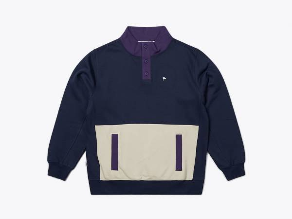 HARRO - MOCK NECK SWEATSHIRT