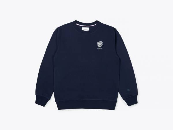 GAVIN CREW - EMBROIDERED CREWNECK