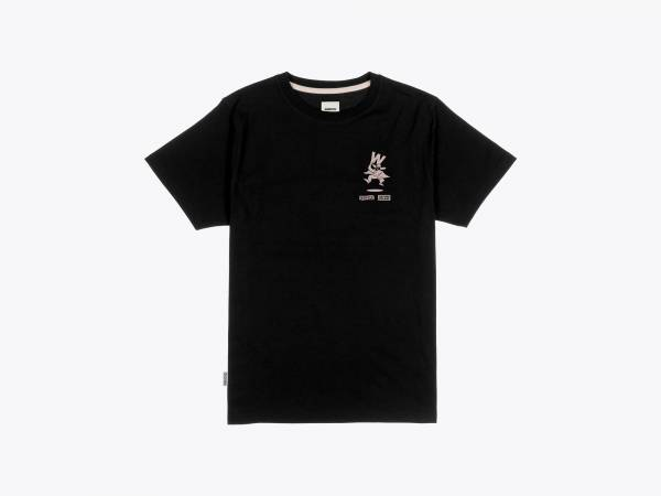 WOMBRE TEE - PRINTED JERSEY T-SHIRT