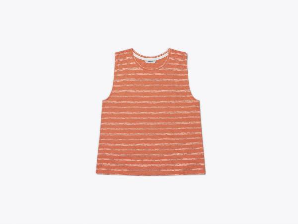 COLUMN PRINTED - SLUBYARN TANK TOP