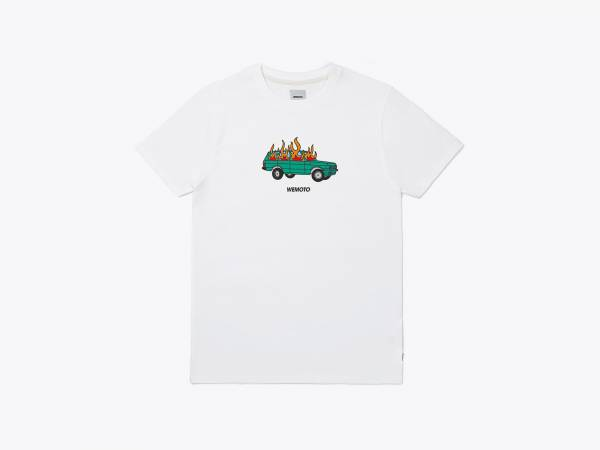 BURN TEE - PRINTED T-SHIRT