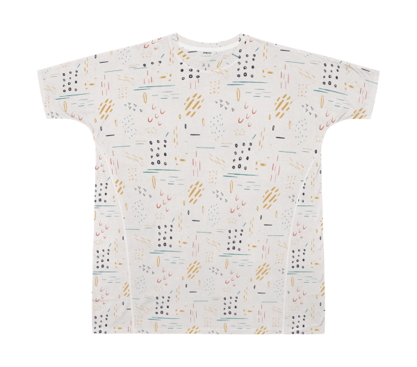 Montie Printed - Cotton Lyocell Dress