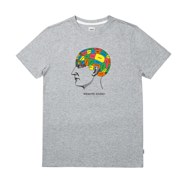 Mind Tee - Cotton Printed T-Shirt