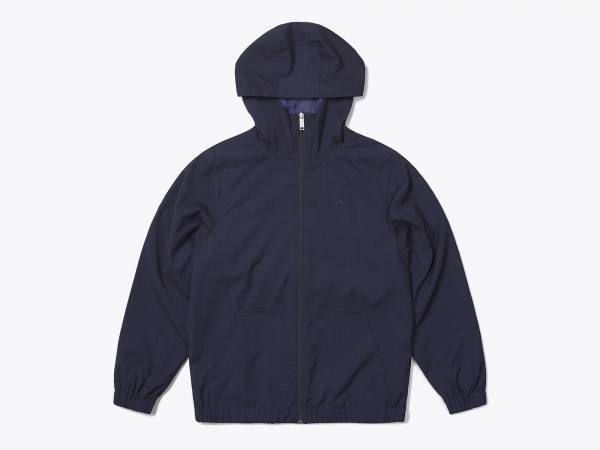 CODY - BLENDED RAYON HOODED ZIP JACKEt