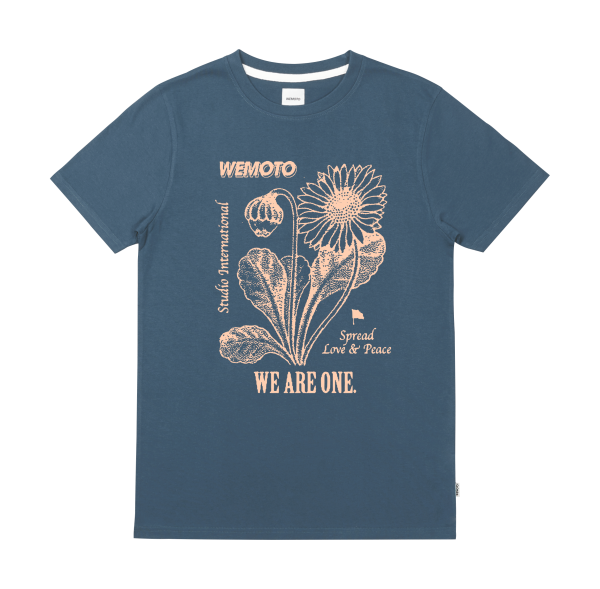 Spread Tee - Organic Cotton Printed T-Shirt