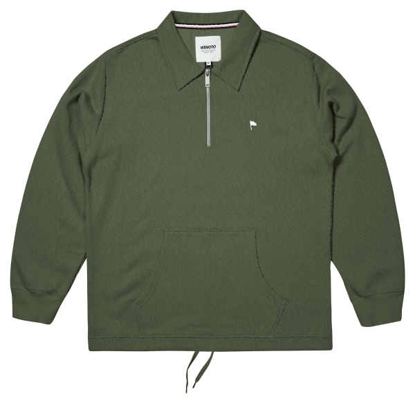 Caine - Organic Cotton Half Zip