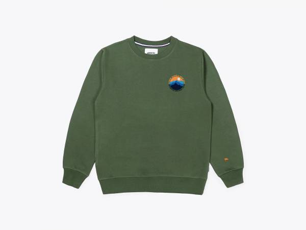 MOUNTAIN CREW - PRINTED CREWNECK