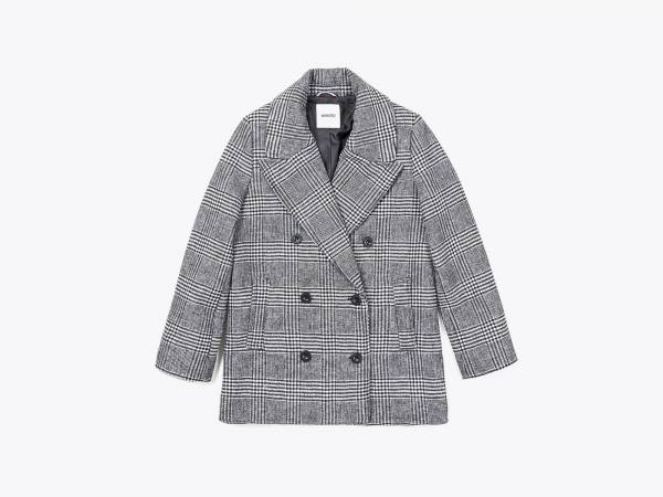 HALO - WOOLFELT DOUBLE BREASTED COAT