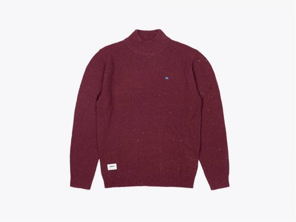 HENRY - NEPYARN KNIT TURTLENECK PULLOVER
