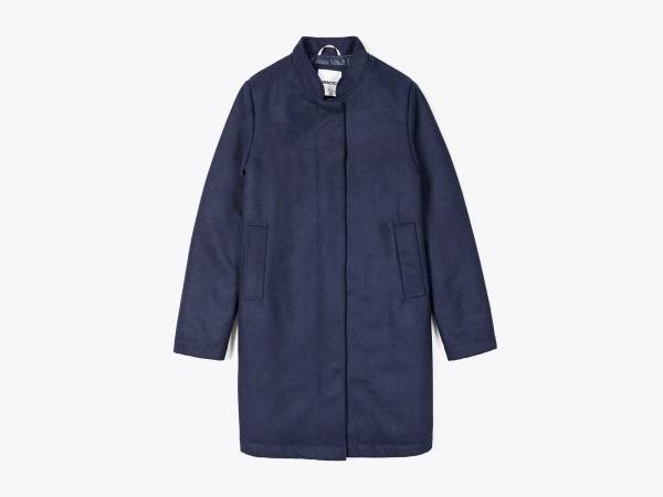 MEGAN - WOOLFELT A-LINE CAR COAT
