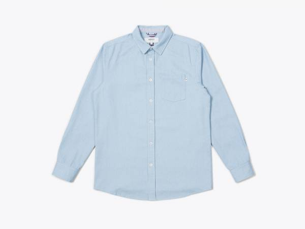 NEATH - DENIM BUTTON UP SHIRT