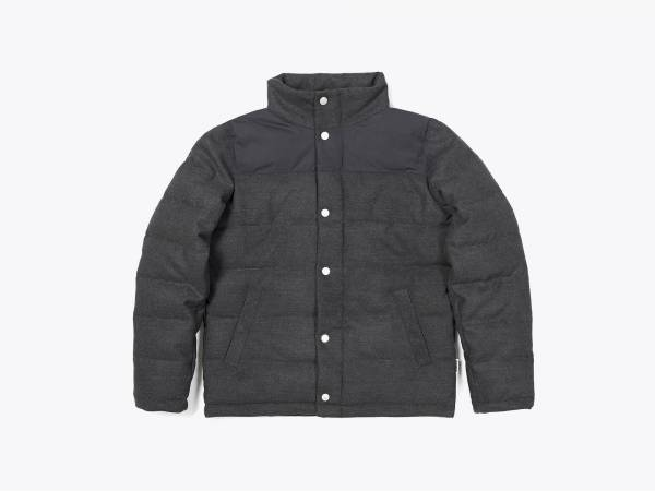 FRANCIS - VEGAN FELT QUILTED COLORBLOCK JACKET