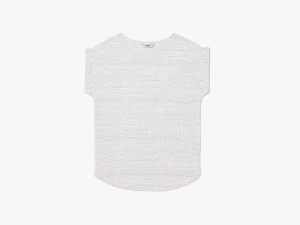 HOLLY PRINTED - SLUB JERSEY T-SHIRT