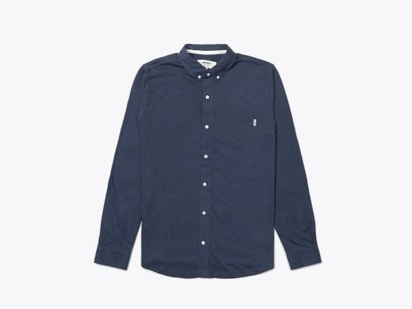 SHAW MEL - JERSEY BUTTON DOWN SHIRT