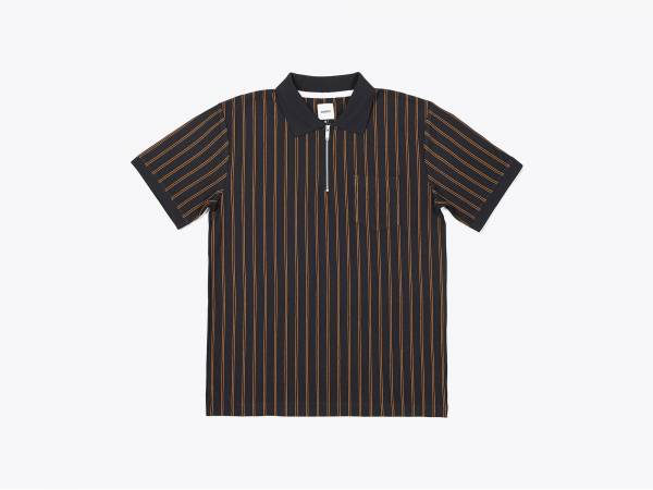 ACE - PIQUÉ ZIP POLO SHIRT